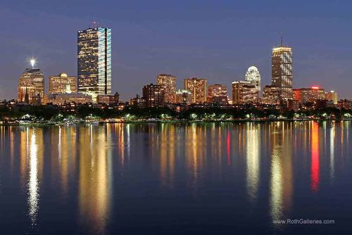Boston-skyline-charles-river-reflection